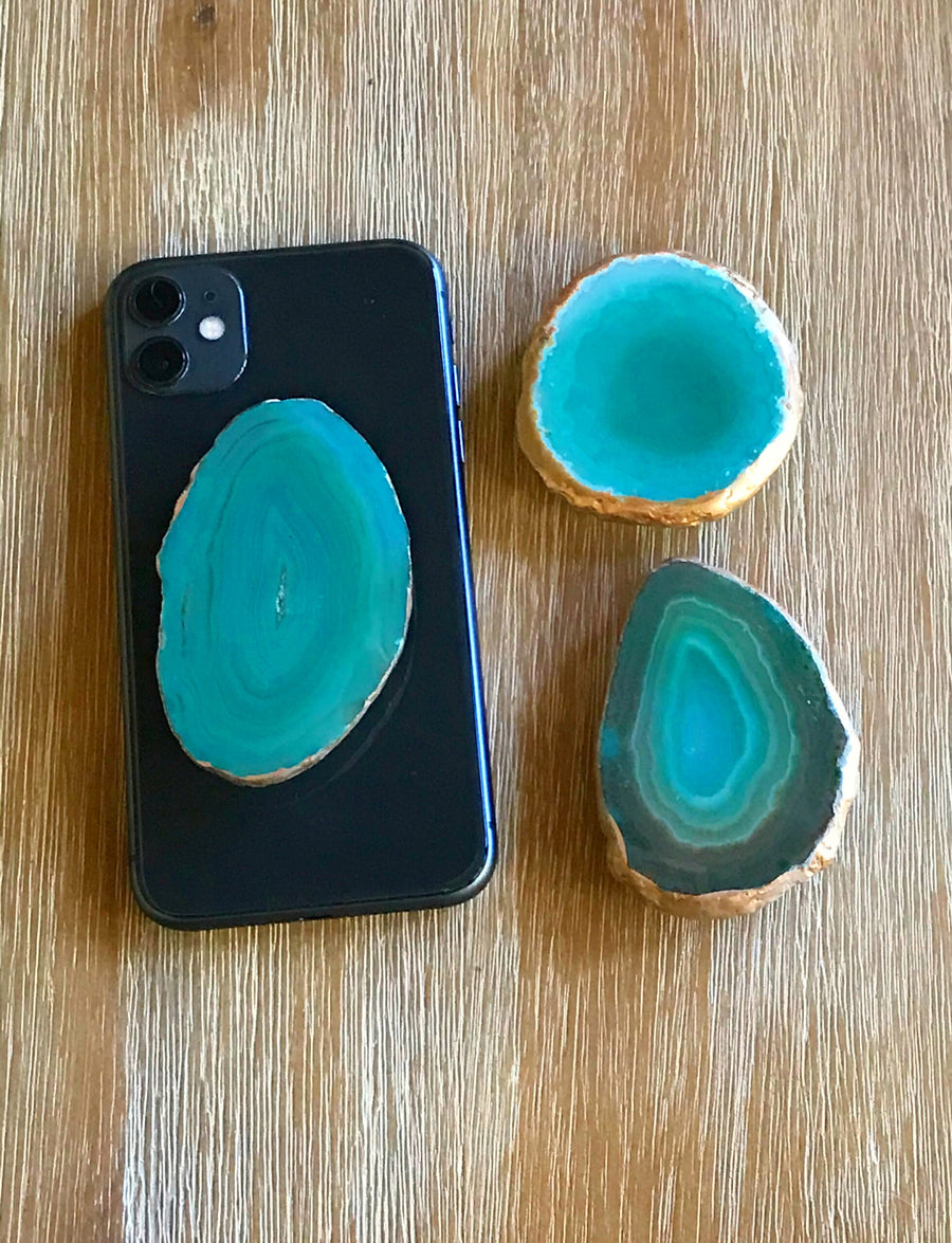 Agate Cell Phone Holder