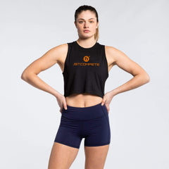 WIT + JST Compete Training Project Series Crop Tank