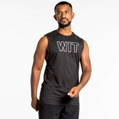 WIT Fitness Tanks WIT Outline Logo Tank