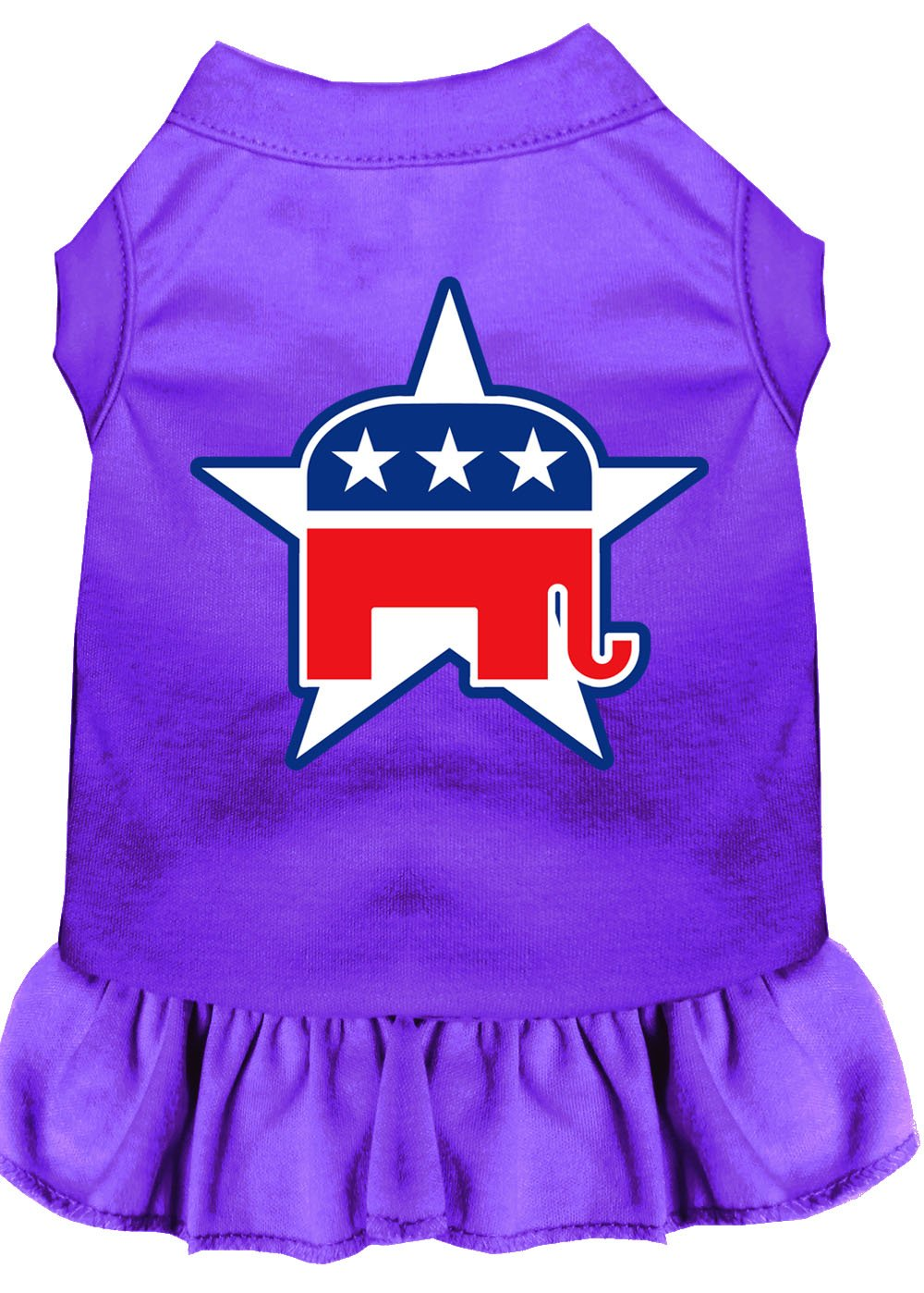 Republican Dog Dress Outfits purple