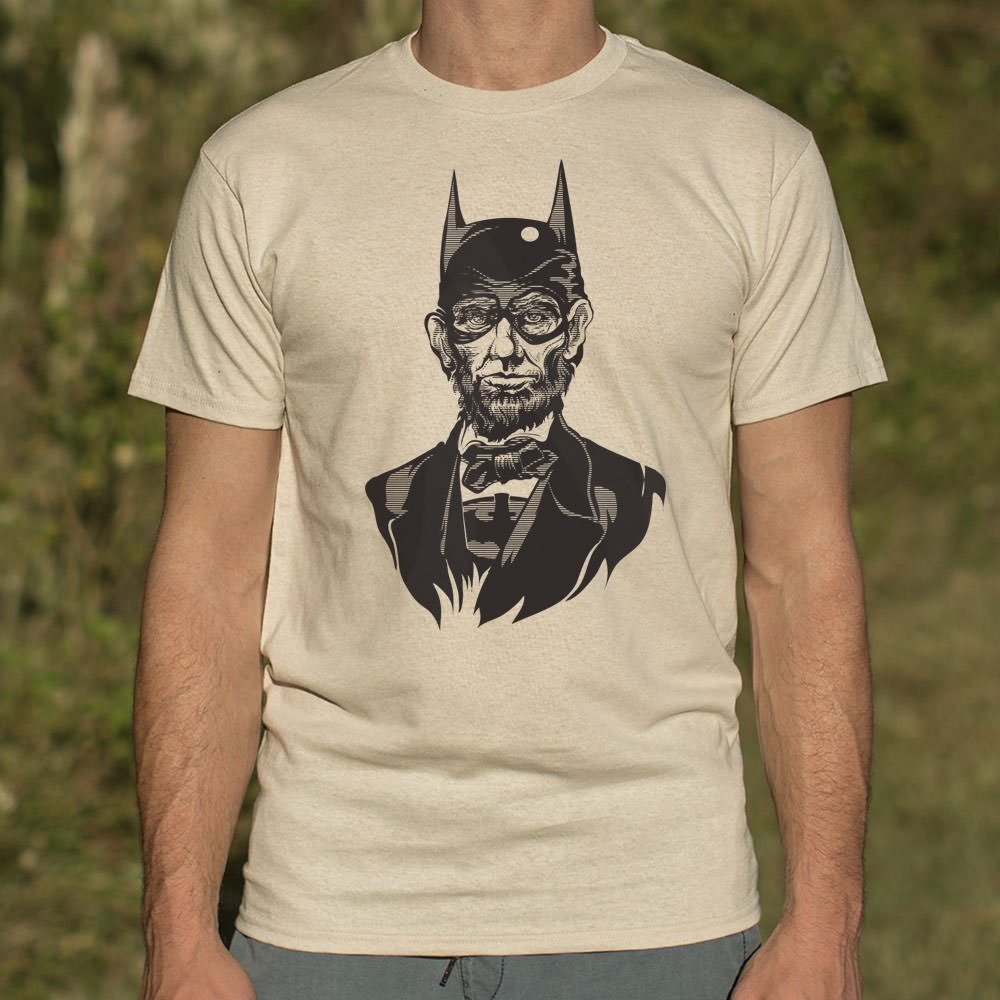 Abe Lincoln Batman Shirt