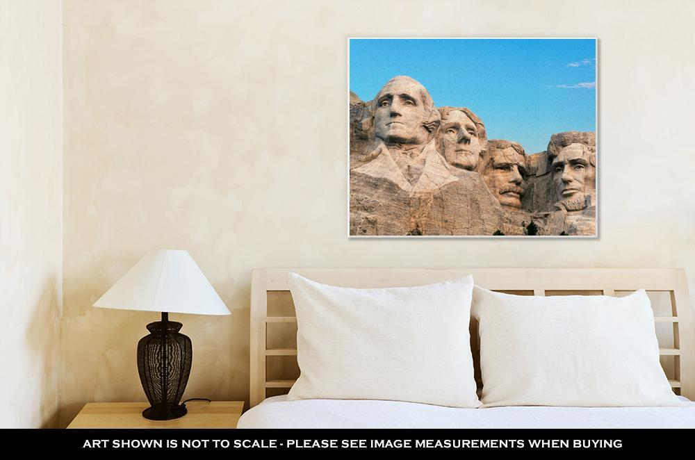 Mt Rushmore canvas