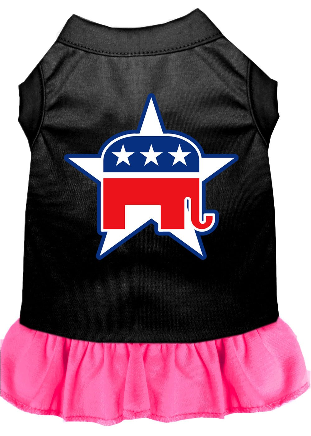Republican Dog Dress Outfit pink