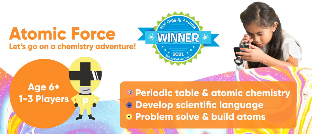 Atomic Force Board game for kids