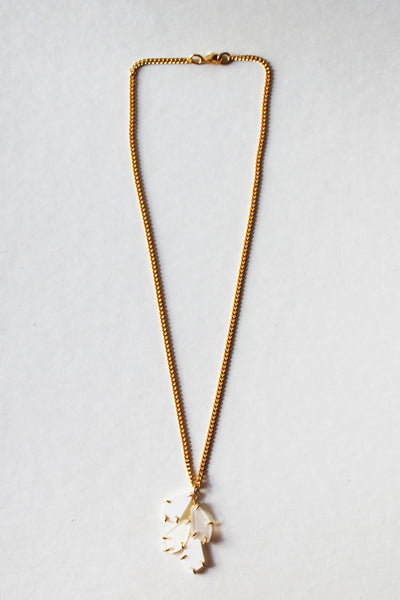 LAYLA NECKLACE IN GOLD