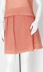 KAT MELON PLEATED SKIRT