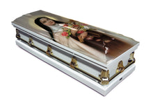 Load image into Gallery viewer, Saint Therese | White with Gold Hardware