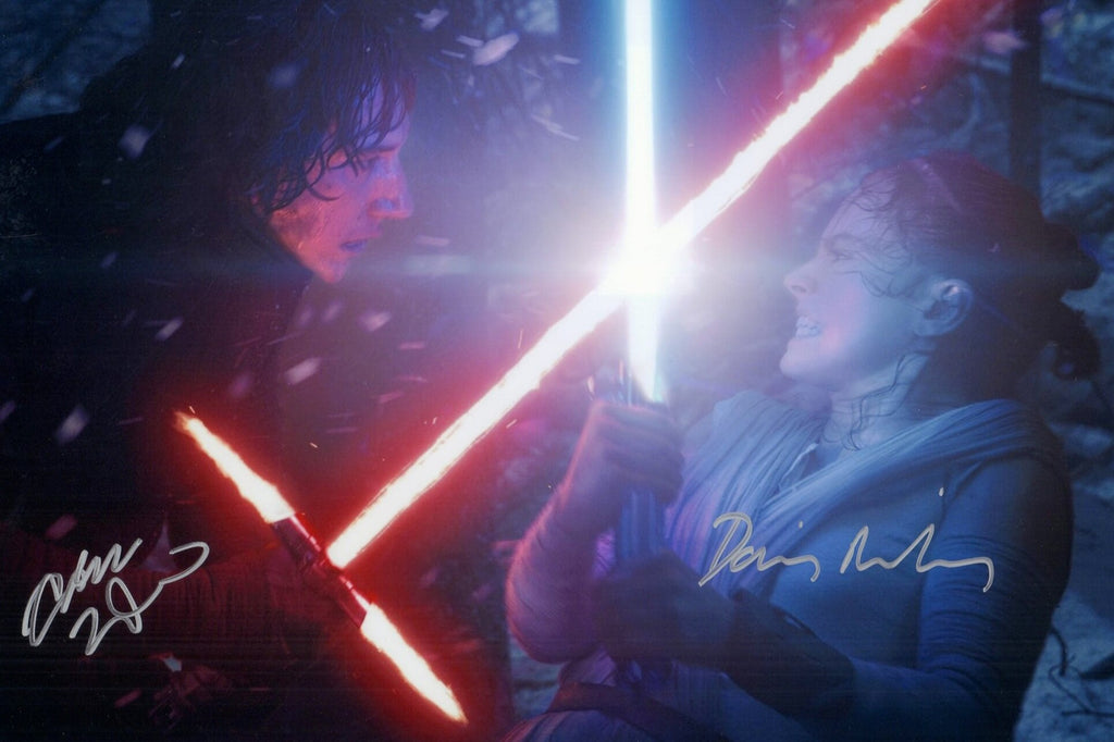 Daisy Ridley and Adam Driver Autograph Signings: Now What?