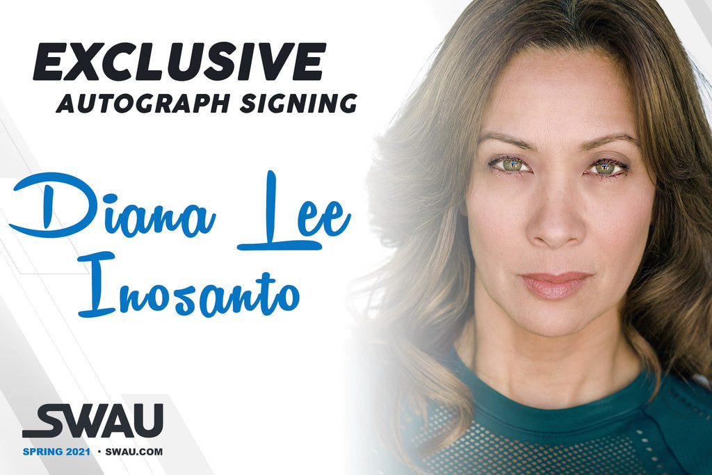 Diana Lee Inosanto to Sign for SWAU!