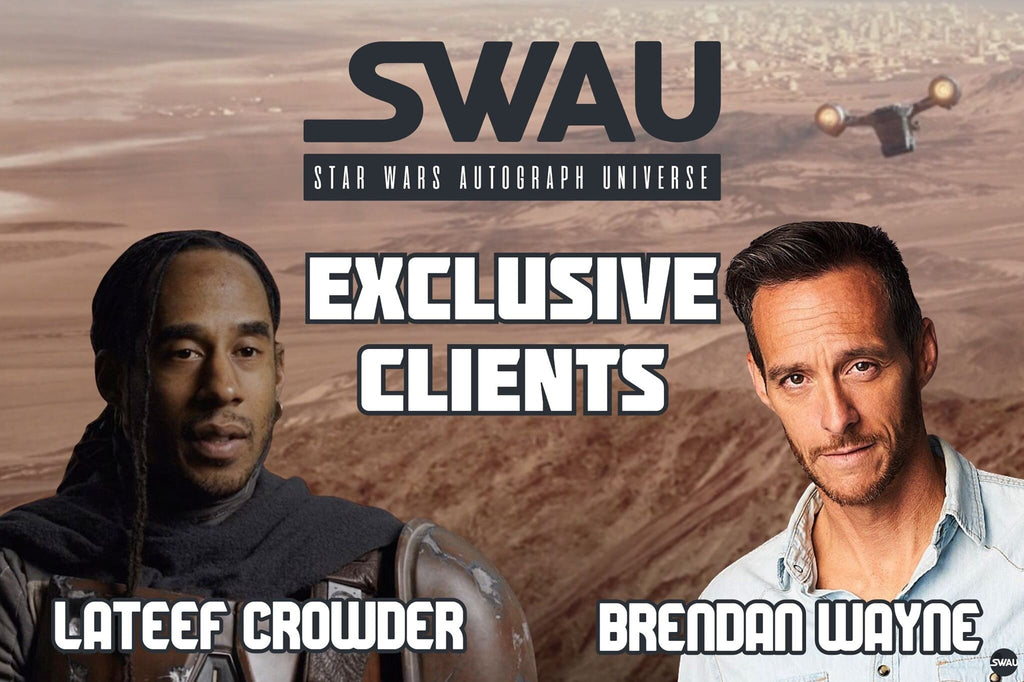 Brendan Wayne and Lateef Crowder Become SWAU Exclusive Clients!