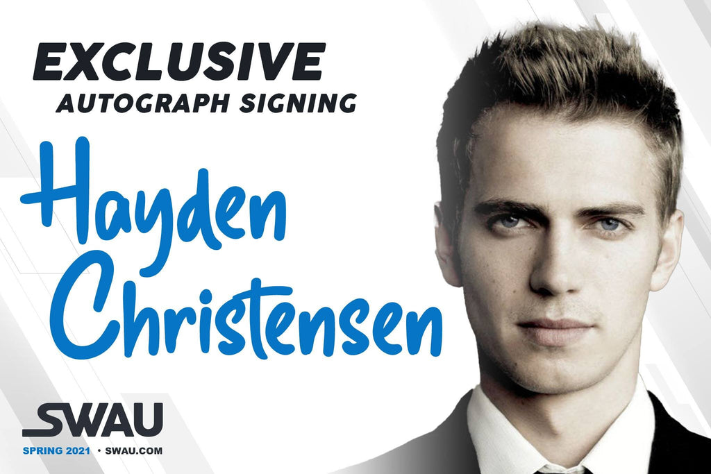Hayden Christensen to Sign Exclusively for SWAU!