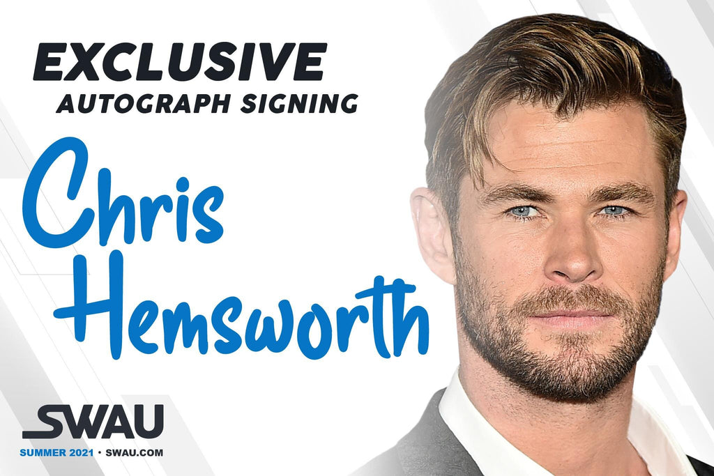 Chris Hemsworth to Sign for SWAU!