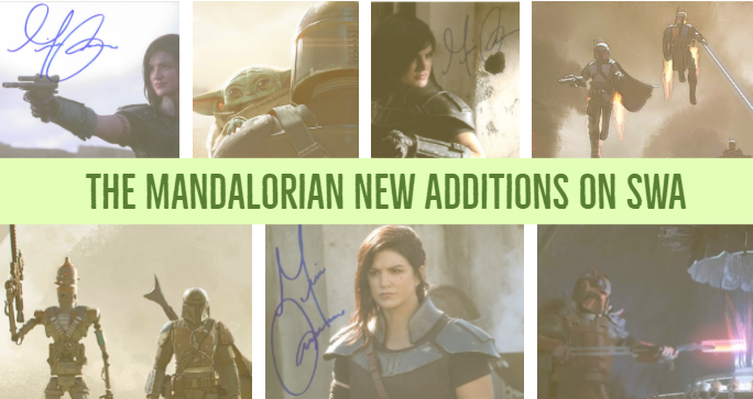 Star Wars Authentics Adds NEW Gina Carano Autographs and Mandalorian Concept Art!