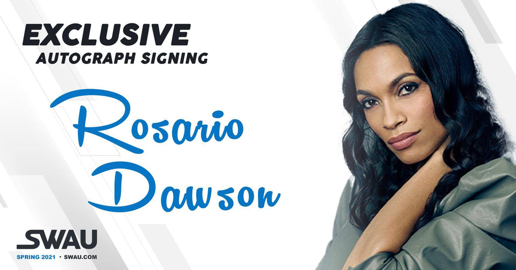 Limited Rosario Dawson Send-In Orders Available
