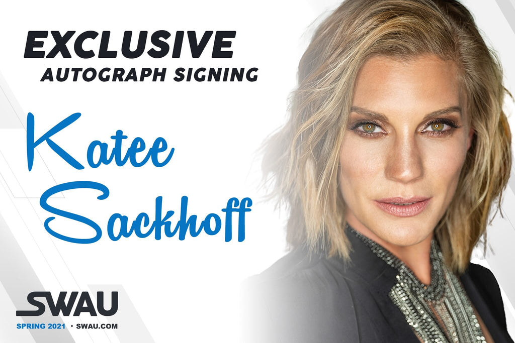 Katee Sackhoff to Sign for SWAU!