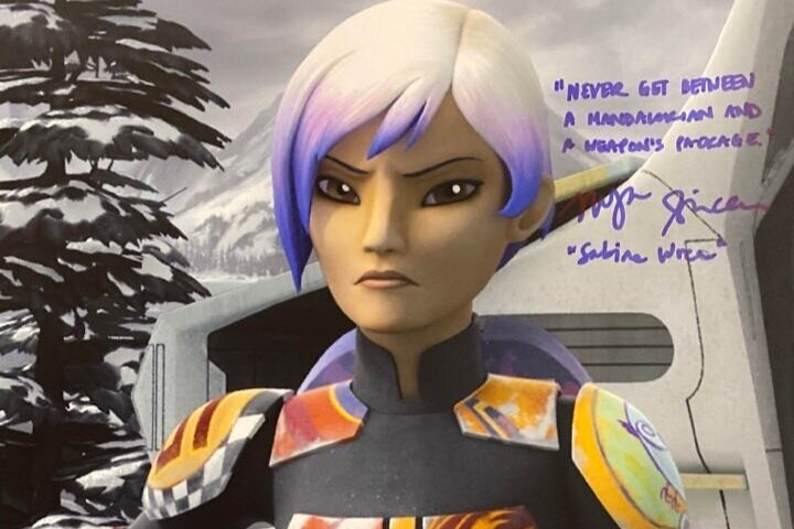 Tiya Sircar and Star Wars Rebels Signings Complete!