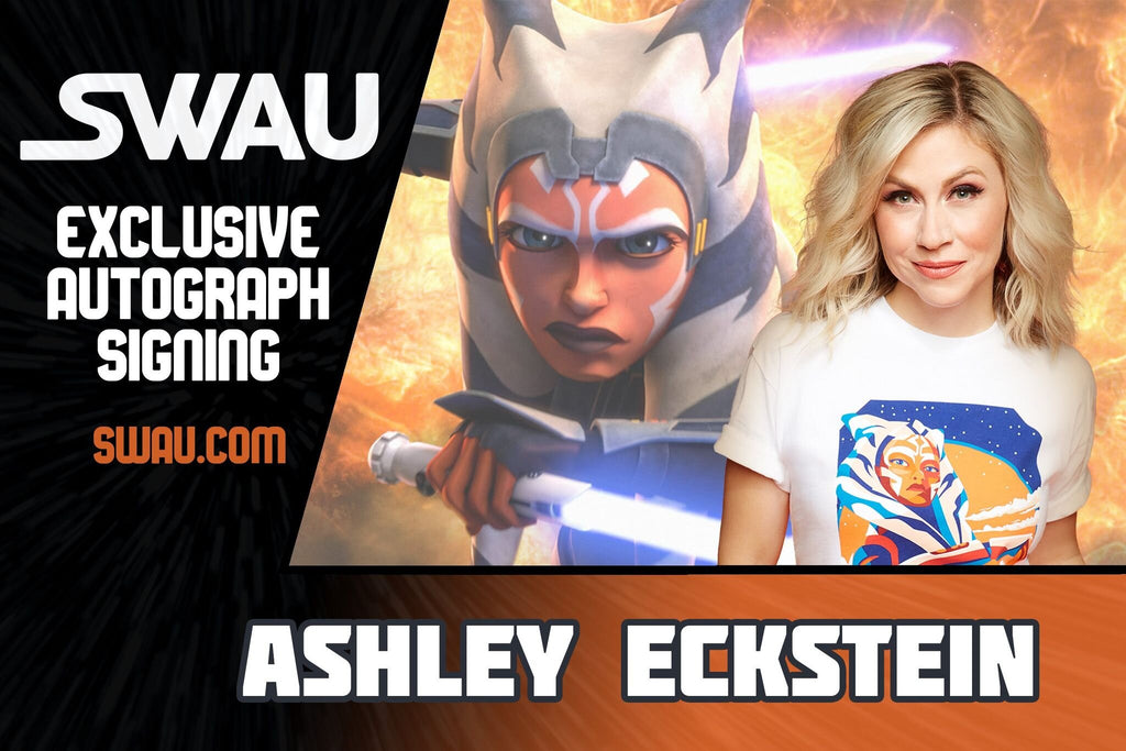 Ashley Eckstein to Sign for SWAU!