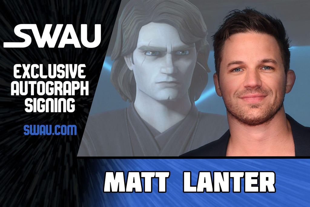 Matt Lanter to Sign for SWAU!