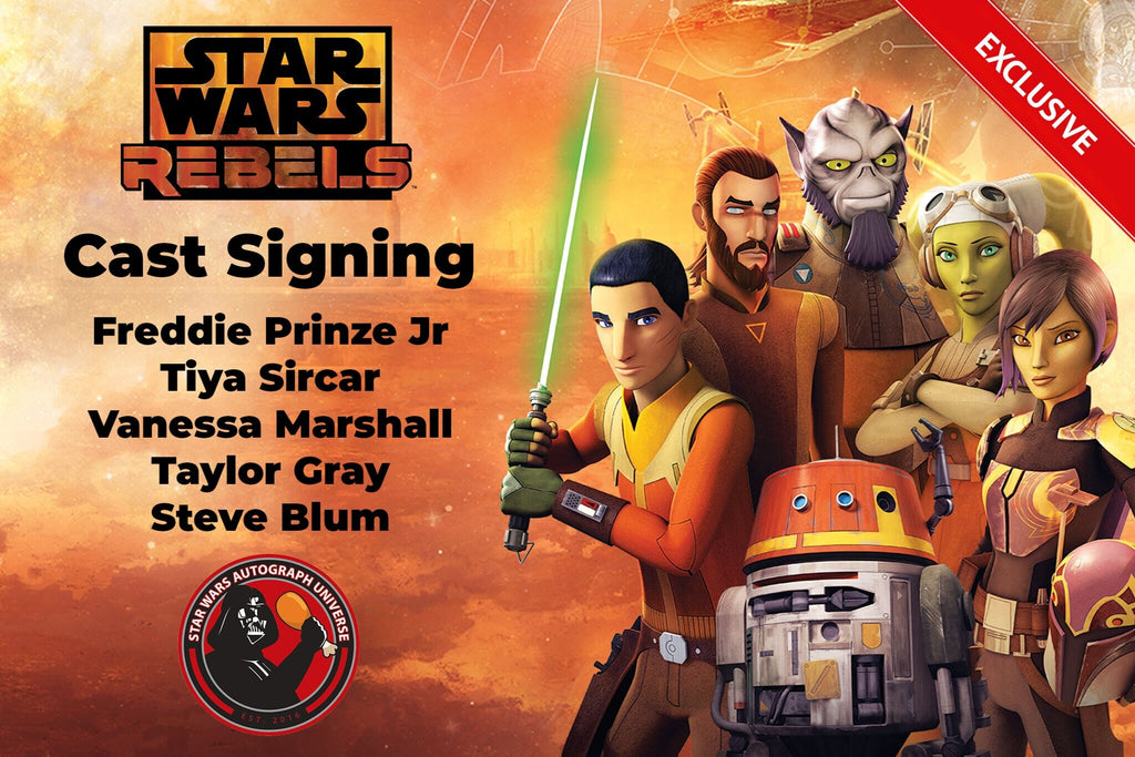 Exclusive Rebels Cast Signing is LIVE!