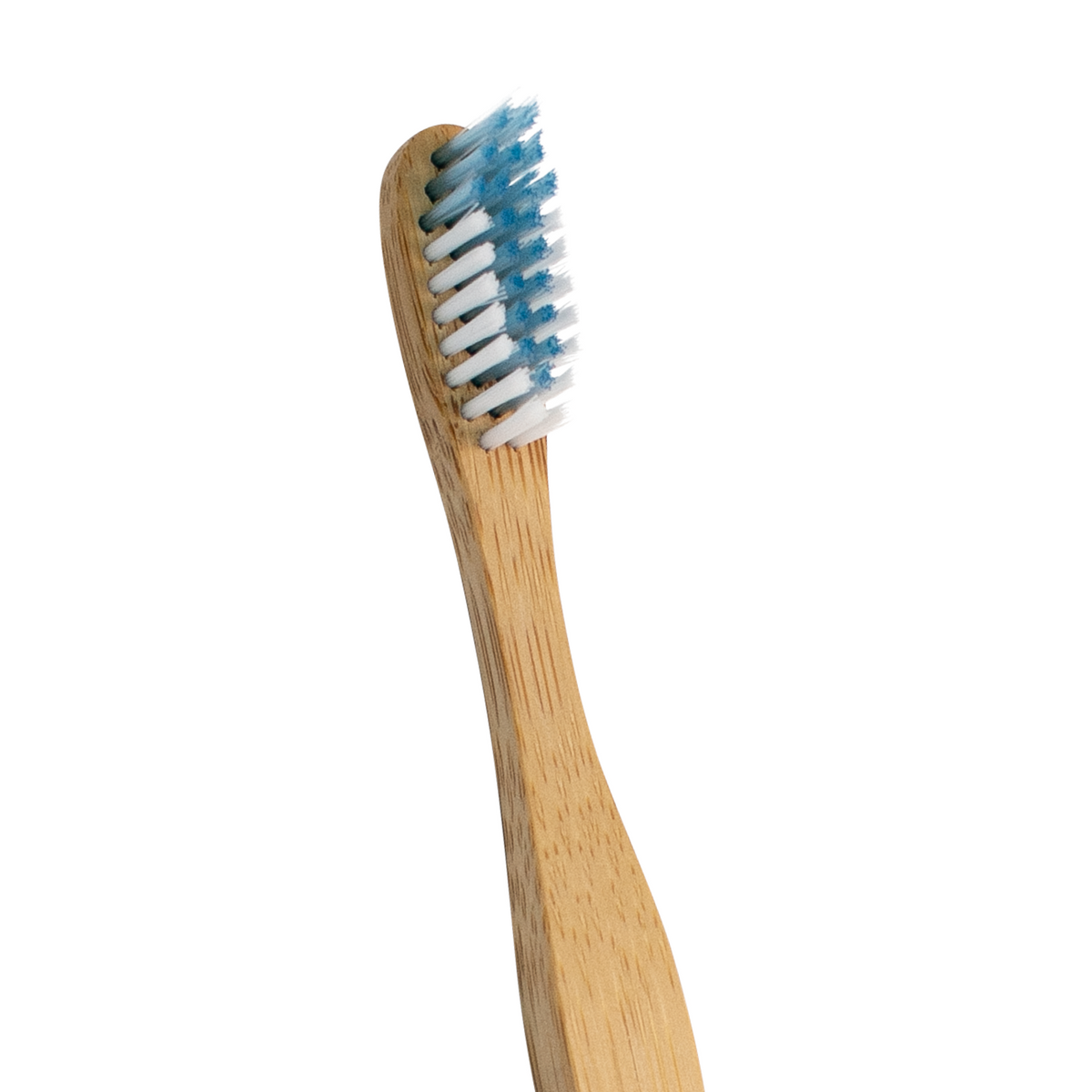 Adult Soft Bamboo Toothbrushes 4-Pack