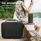 Aeropress case for camping and travel