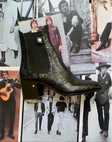 the dandy rock style inspiration for our ANGIE bootie
