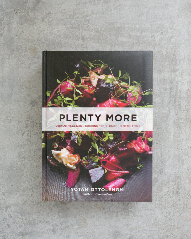 Plenty More Recipe Book by Yotam Ottolenghi