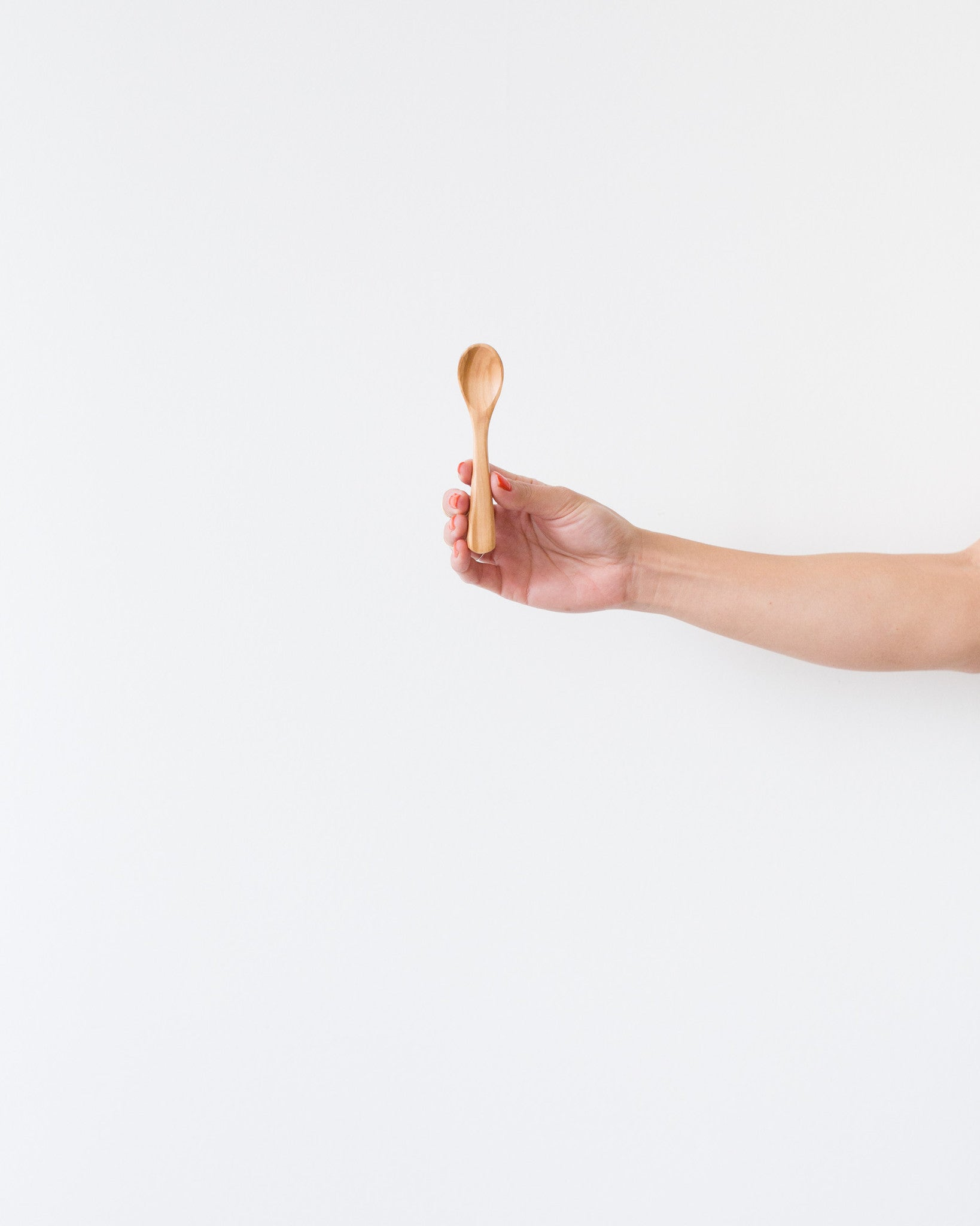 Olive Wood Spoon in Natural
