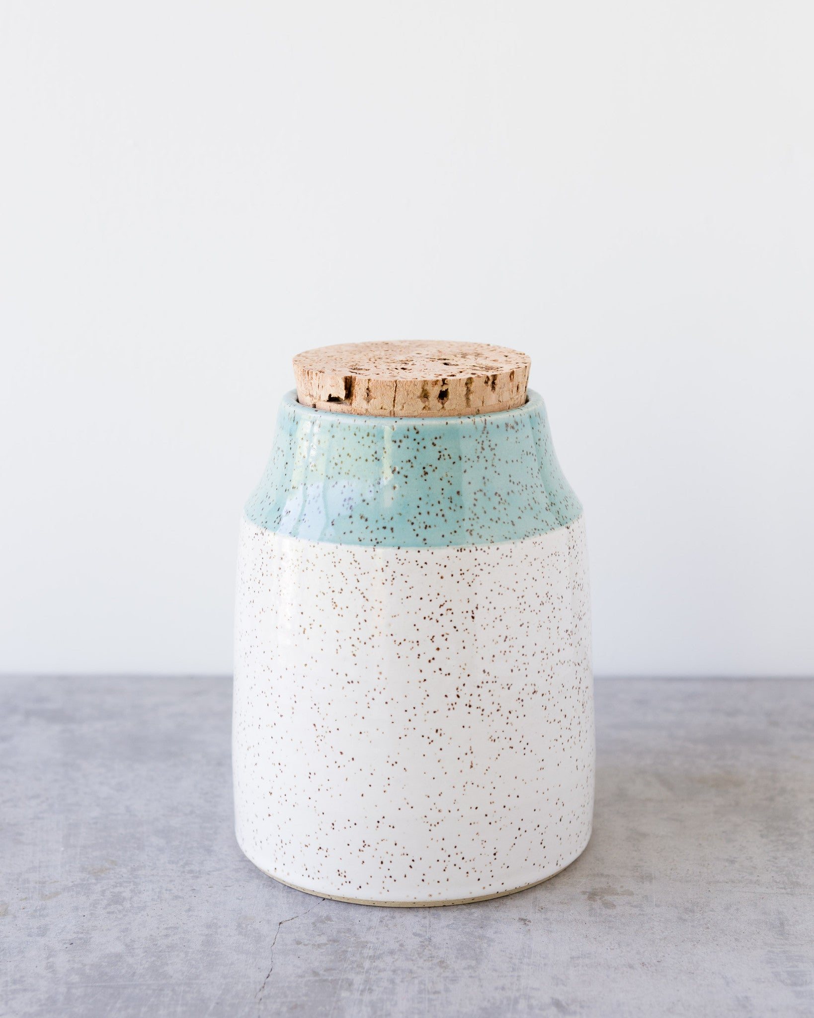 Dahlhaus Medium Dipped Canister in Blue