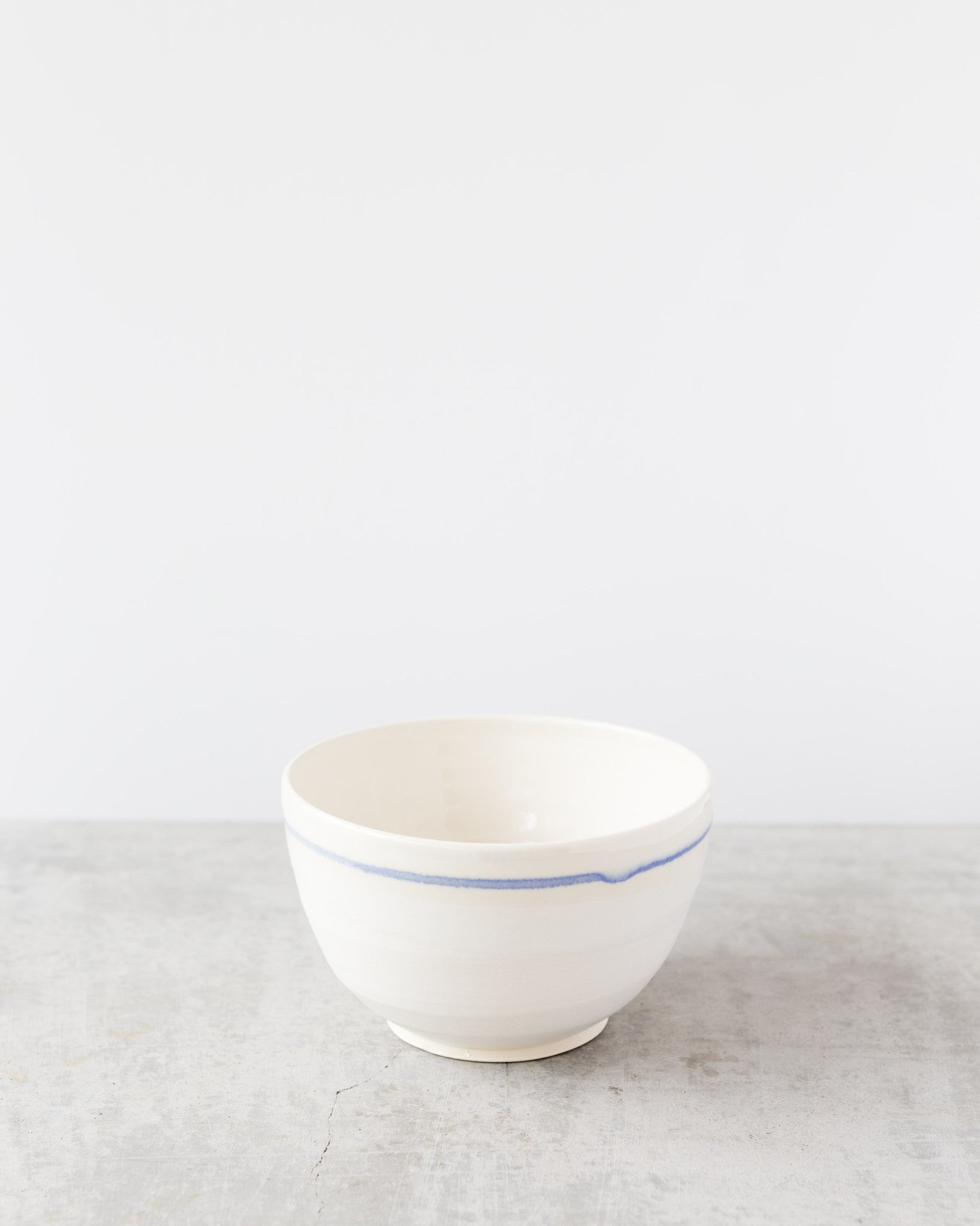 Kalika Bowlby 1920 Bowl in Blue Stripe