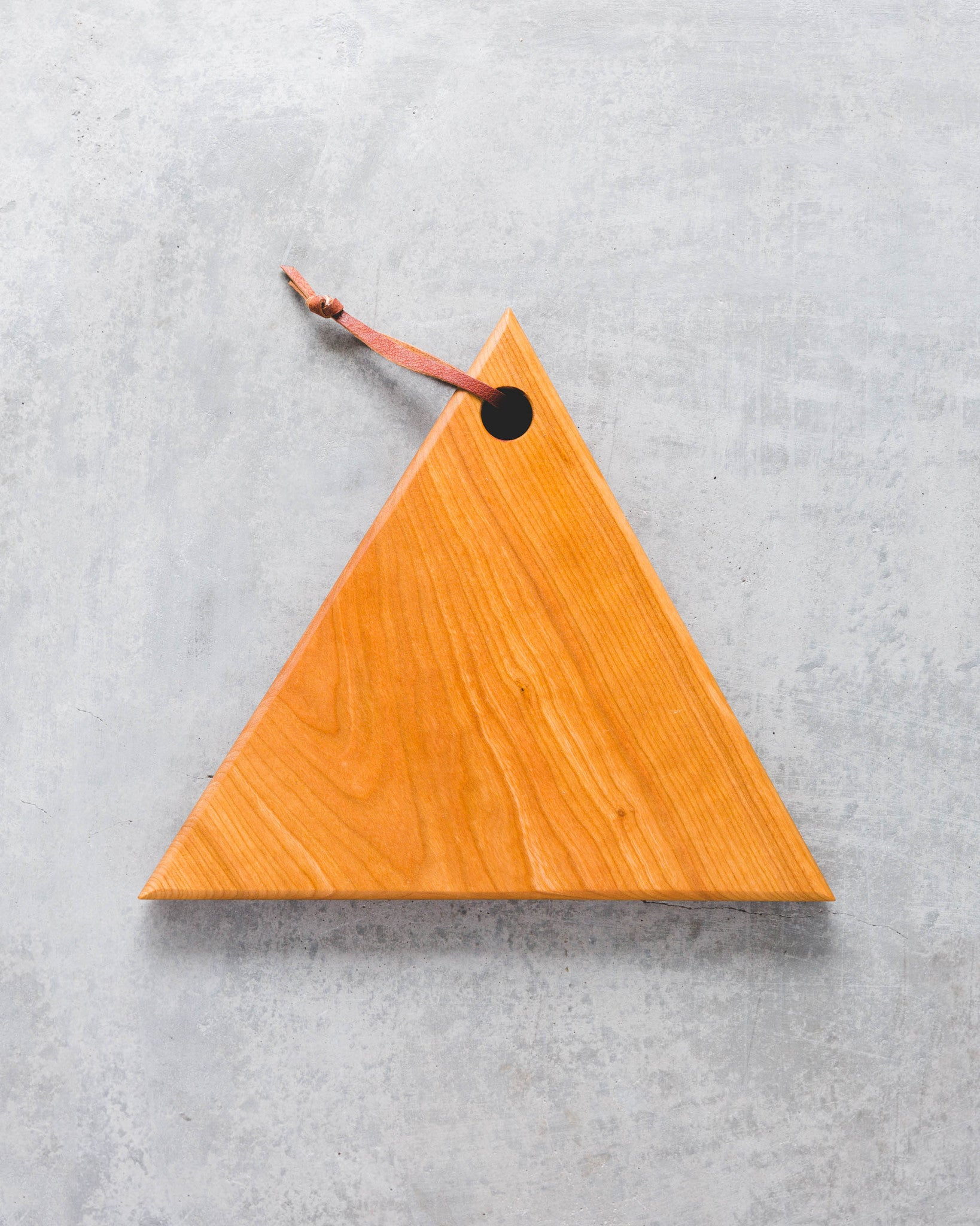 Cherry Triangle Cutting Board