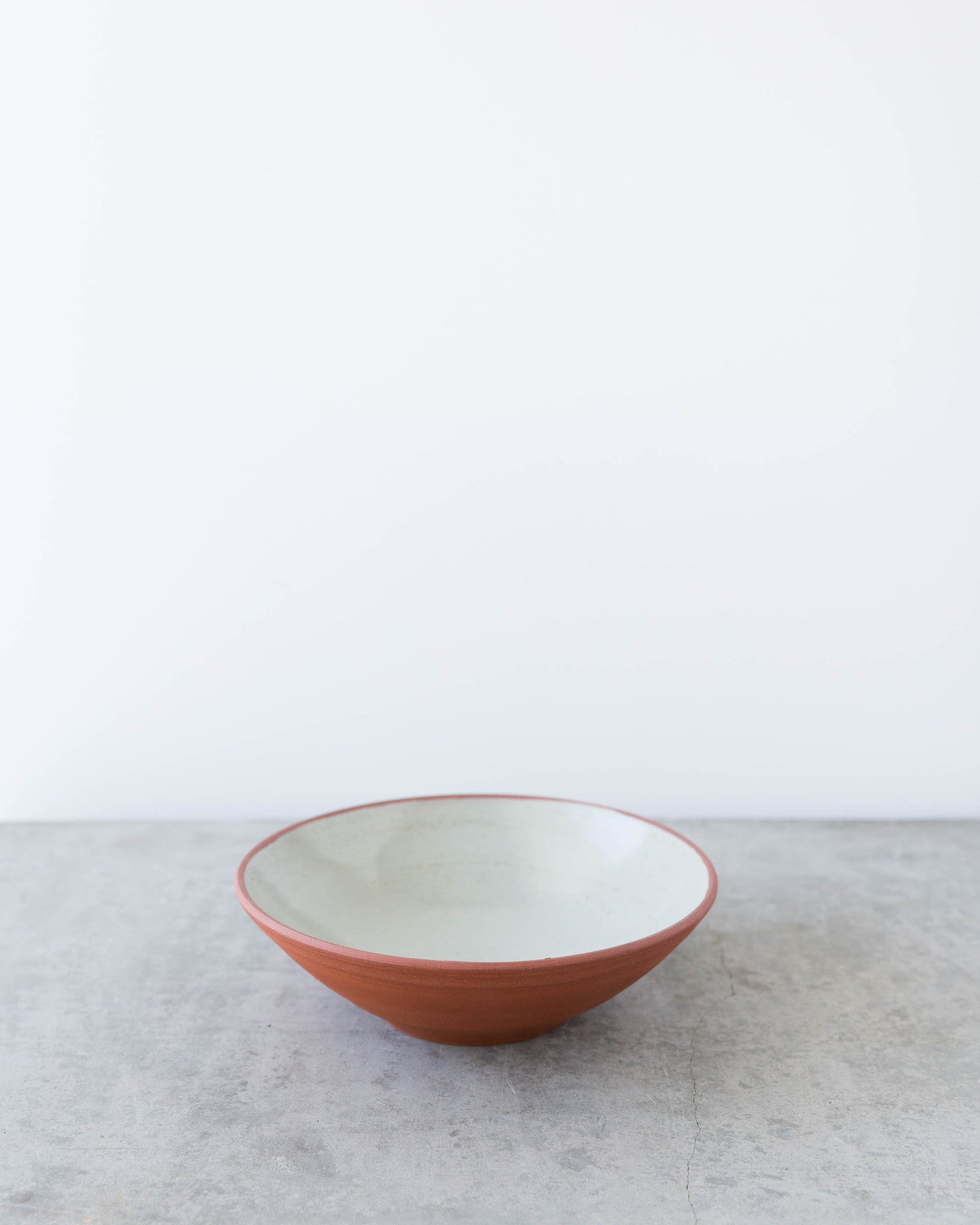Kalika Bowlby Nest Collection Flat Bowl in Grey