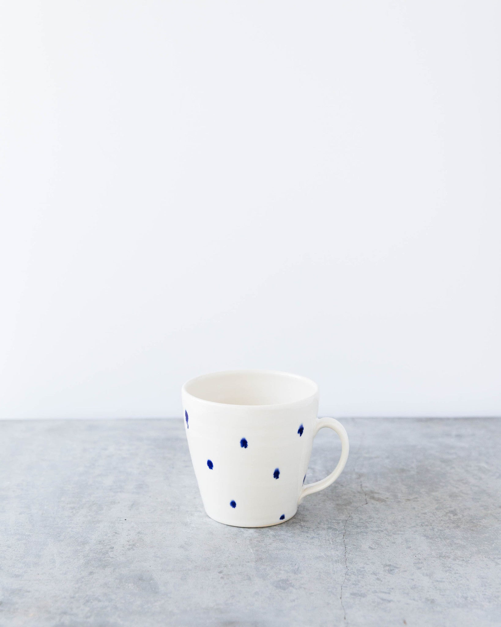 Kalika Bowlby Golden Collection Blue Mug