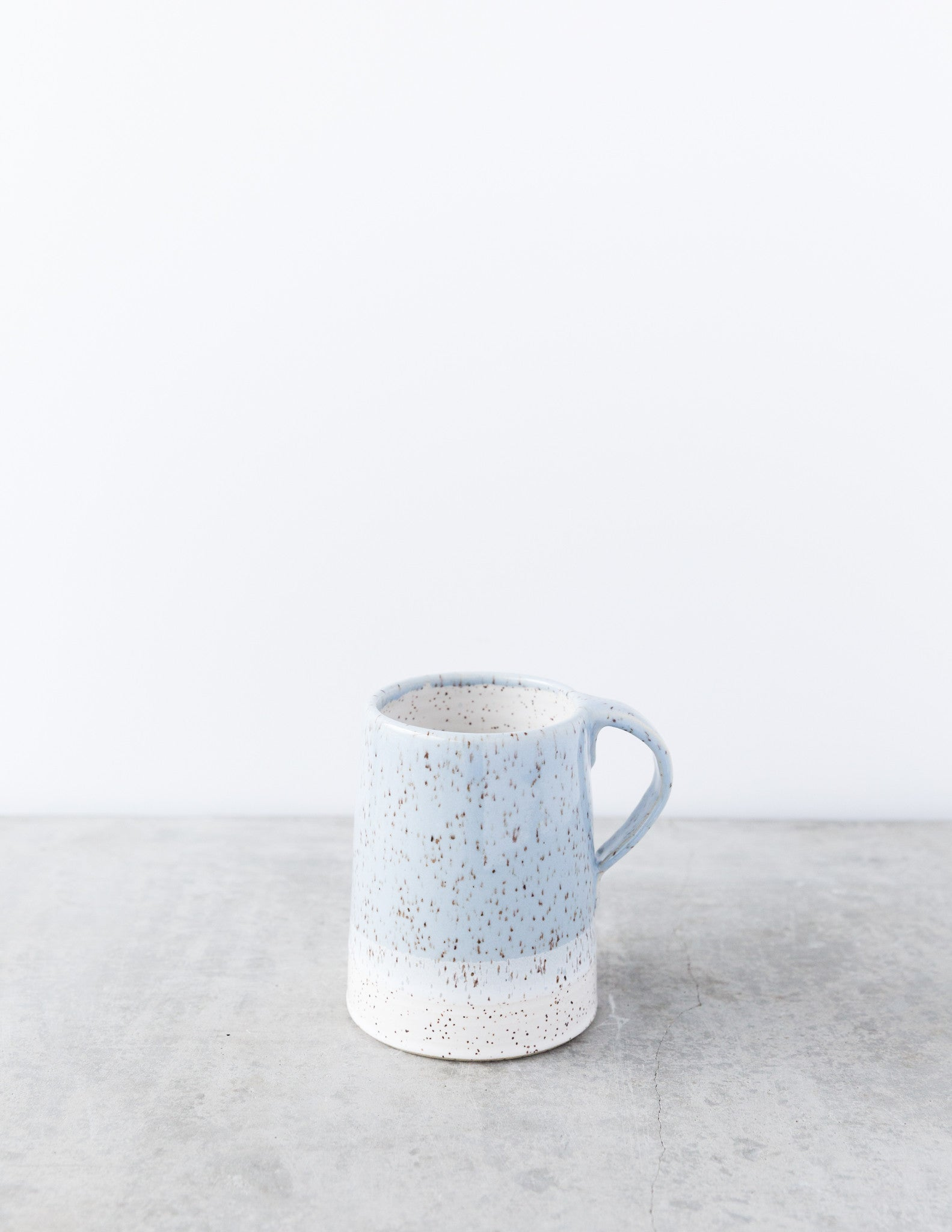 Dahlhaus Dipped Speckled Mug in Light Blue