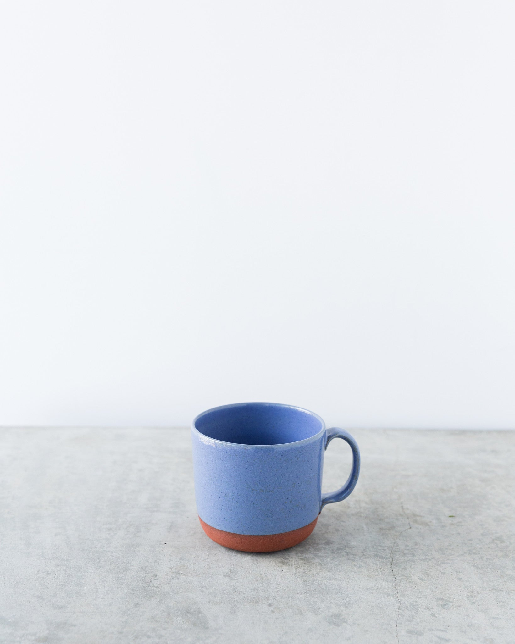 Kalika Bowlby Nest Collection Mug in Periwinkle Blue