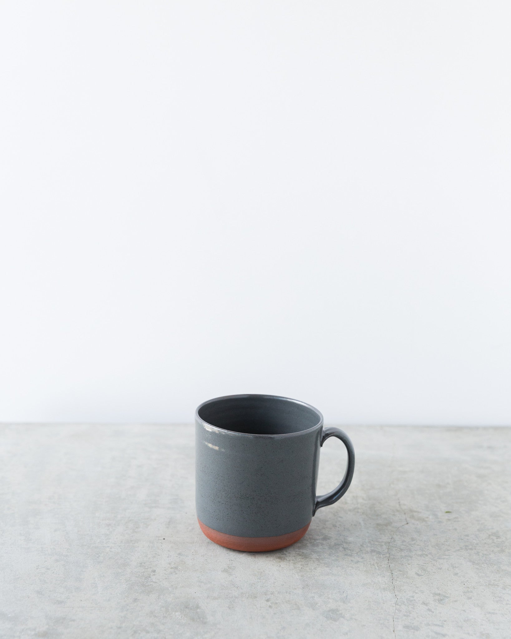 Kalika Bowlby Nest Collection Mug in Charcoal Grey