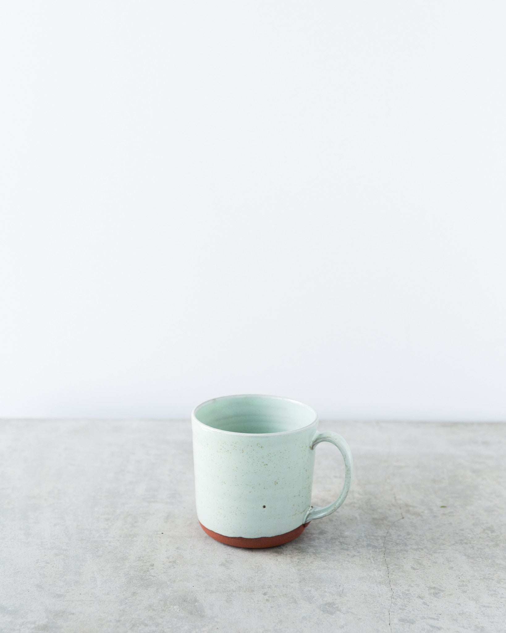 Kalika Bowlby Nest Collection Mug in Mint Green