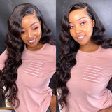 Brazilian Loose Wave 13x4 Lace Frontal Wig 180%