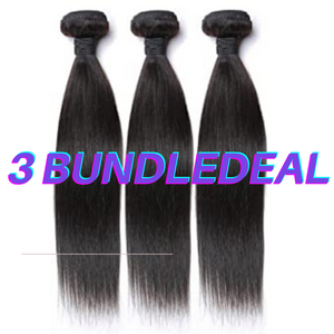 Brazilian Straight 3 Bundle deal sale