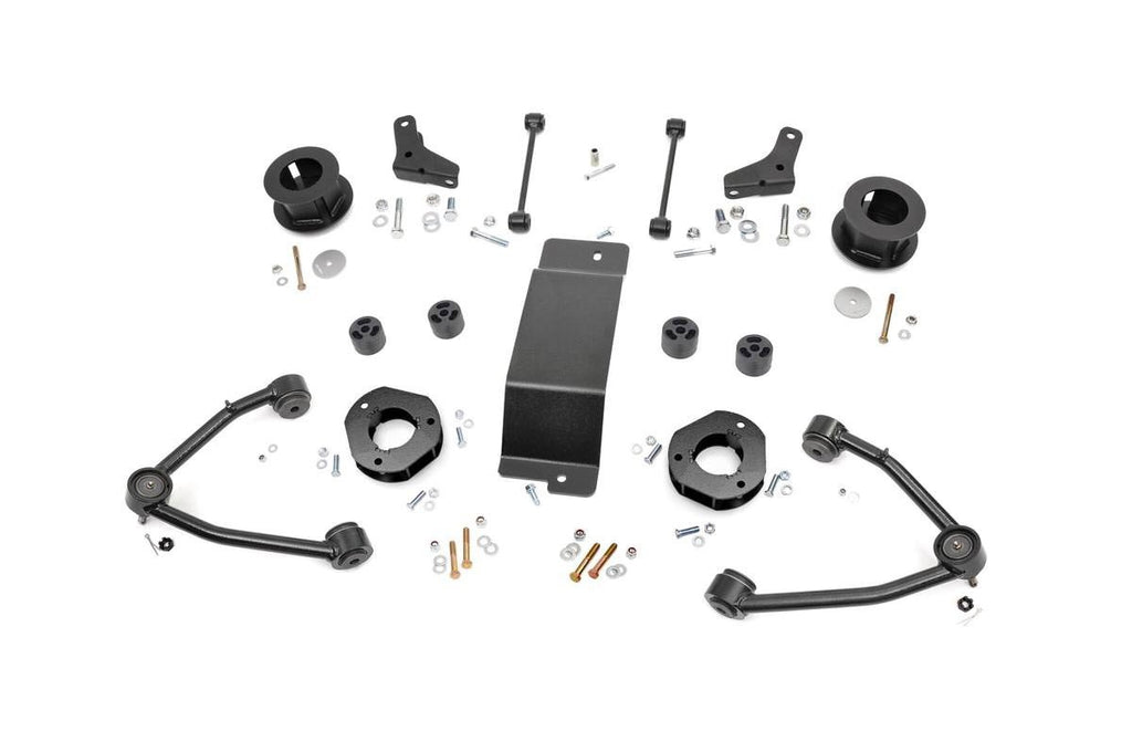 2007-2016 Suburban / Yukon XL 4WD 3.5-inch Suspension Lift Kit (Factory Cast Steel Control Arm Models)