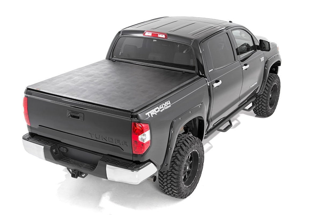 "Toyota Soft Tri-Fold Bed Cover (14-20 Tundra - 5' 5"" Bed w/o Cargo Mgmt)"
