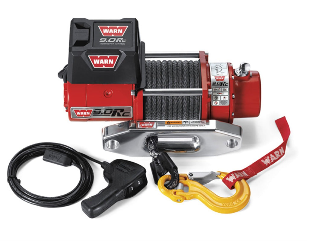 Warn 71550 9000 Pound Winch Vehicle Recovery with Synthetic Rope