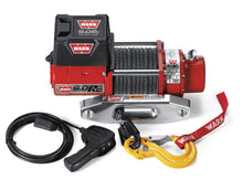 Load image into Gallery viewer, Warn 71550 9000 Pound Winch Vehicle Recovery with Synthetic Rope