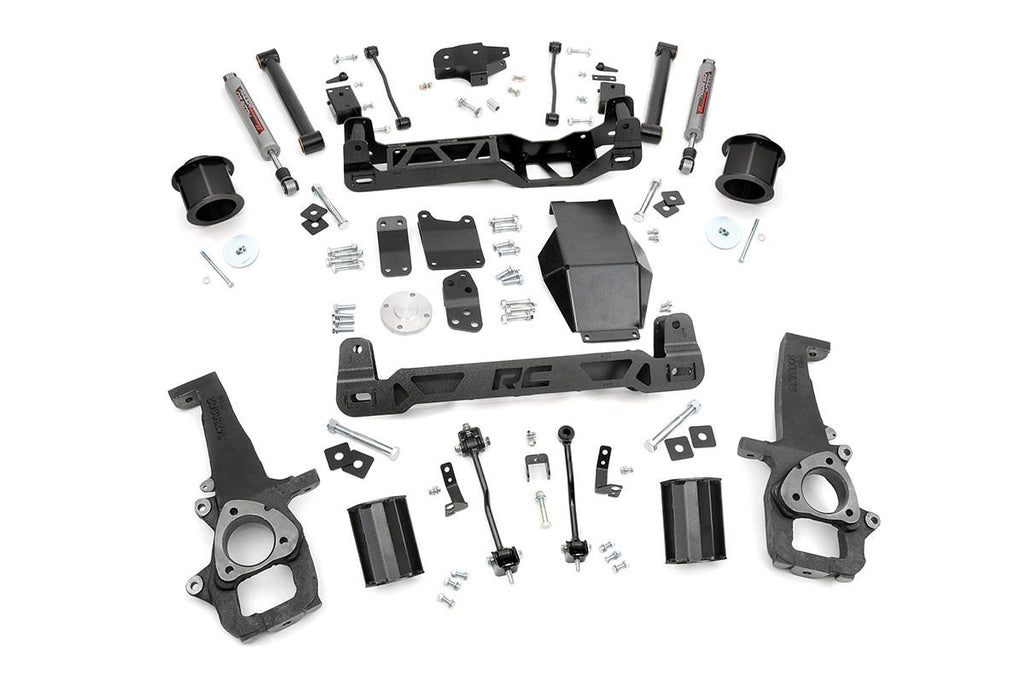 09-10 Dodge Ram 1500 4WD/ Ram: 11-11 1500 4WD 6-inch Suspension Lift System