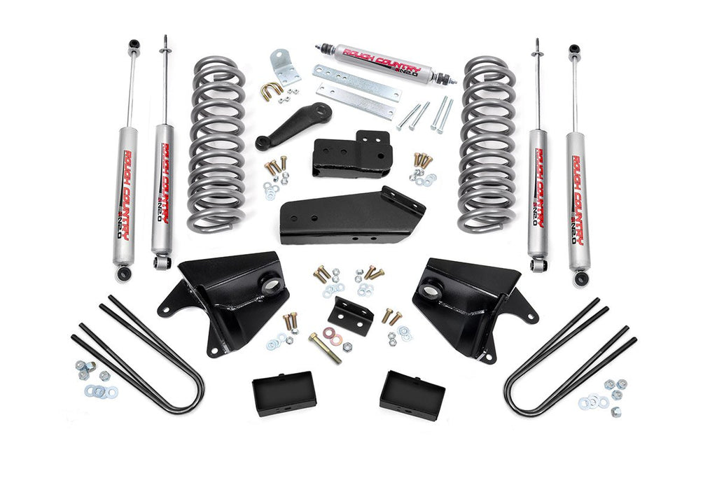 1980-1996 Ford F-150 2WD 4-inch Suspension Lift Kit
