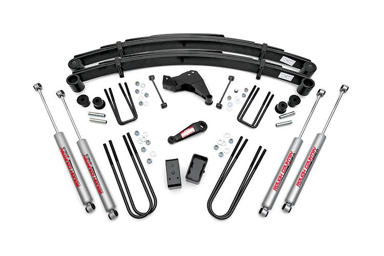 1999 Ford F-250 F-250 Super Duty 4WD 6-inch Suspension Lift Kit