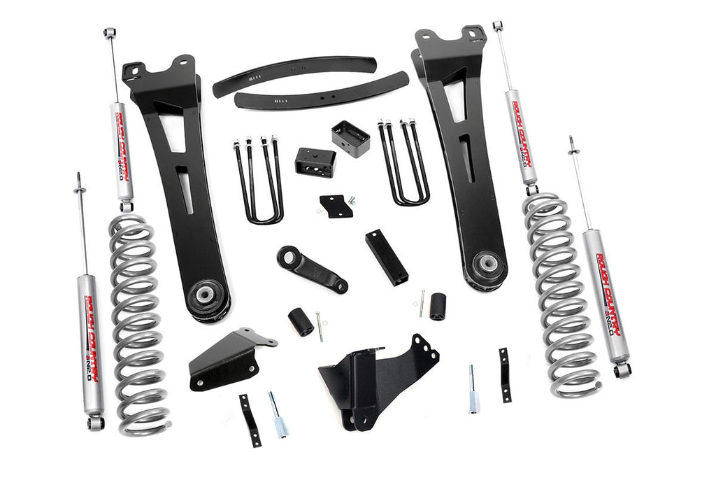 2005-2007 Ford F-250 F-350 Super Duty 4WD 6-inch Radius Arm Suspension Lift Kit