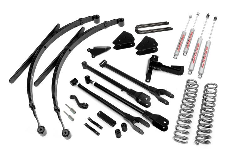8-inch 4-Link Suspension Lift System Rough Country 590.2