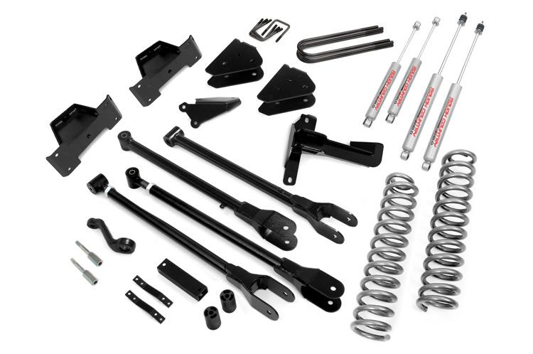 2005-2007 Ford F-250 F-350 Super Duty 4WD 8-inch 4-Link Suspension Lift Kit