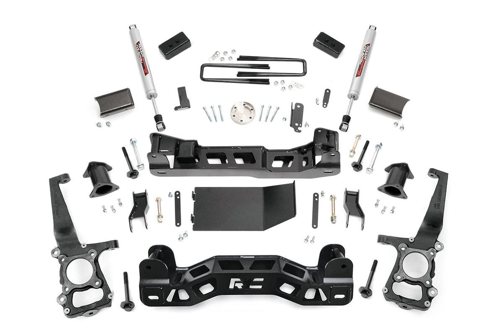 2009-2010 Ford F150 Pickup 4WD 4-inch Suspension Lift Kit
